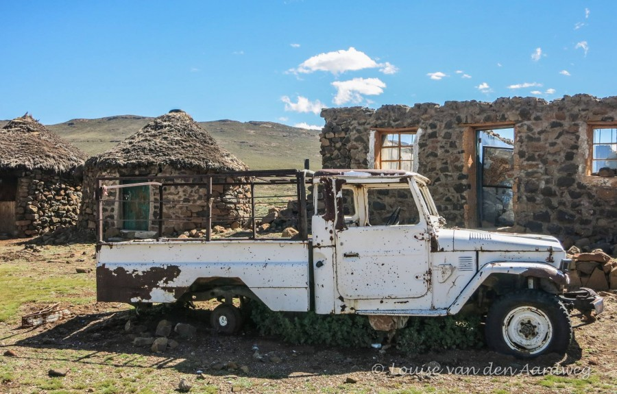 Derelict truck and home