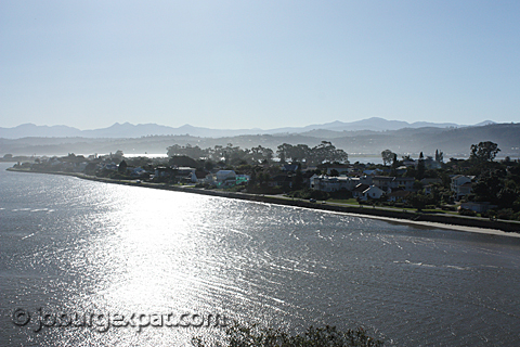 Knysna on the Garden Route in South Africa