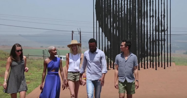 VIDEO: Foreign Instagrammers Follow Madiba's Journey Thro' South Africa