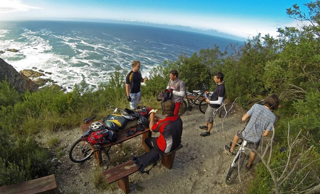 garden route biking