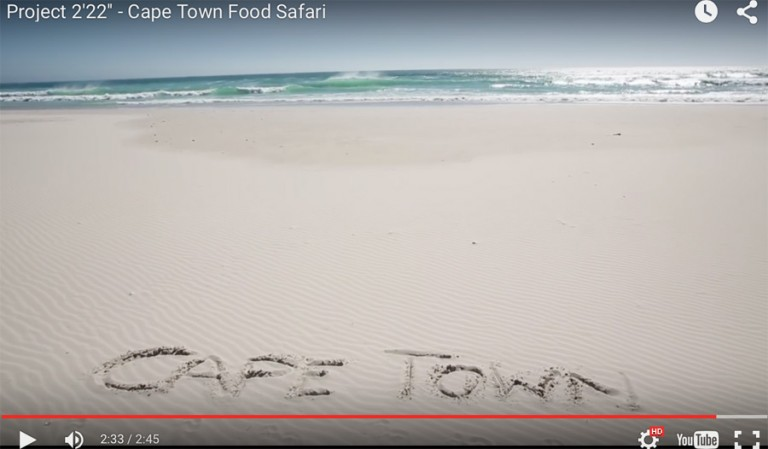 Stunning Cape Town Video…Food Safari and More