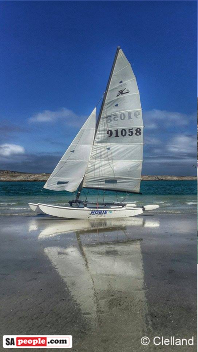 Langebaan photo yacht