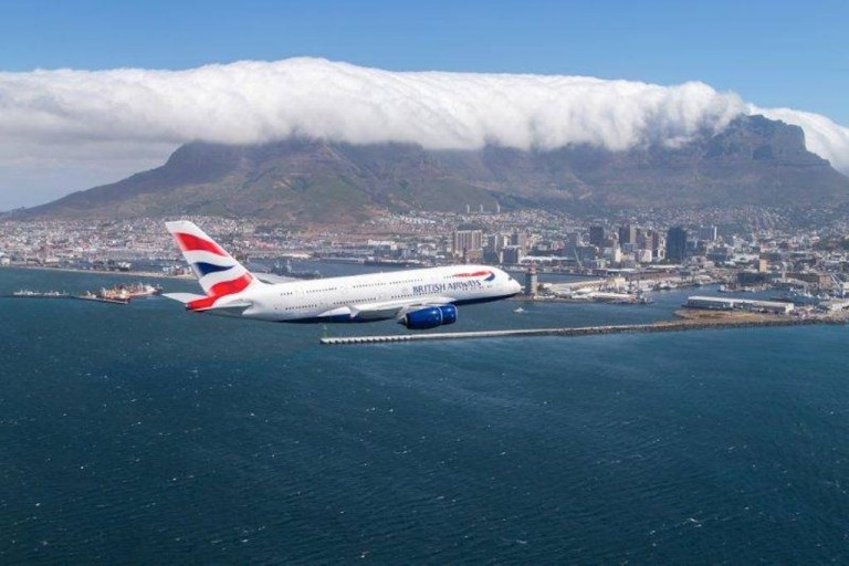 Cape Town Gets New Flights from Gatwick