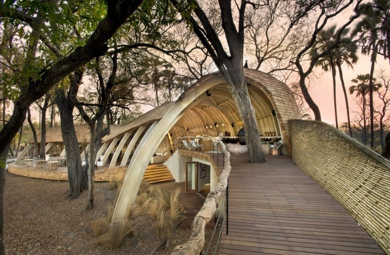 Unique Pangolin-Shaped Game Lodge Up for World Prize