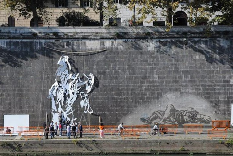 The Artist Painting Rome's Tiber