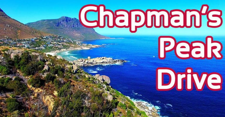Footage of One of the World's Most Spectacular Drives – Chapman's Peak