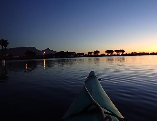 paddle cape town zandvlei