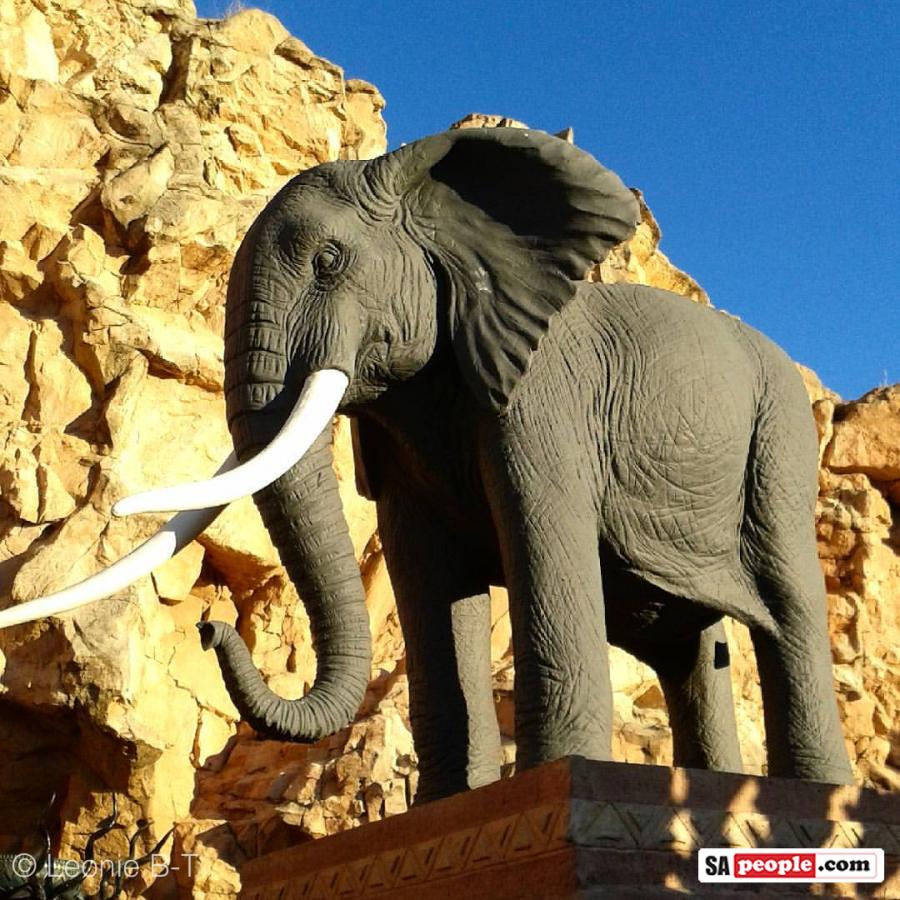 sun-city-elephant-statue