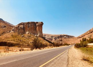 clarens south africa free state travel cute town