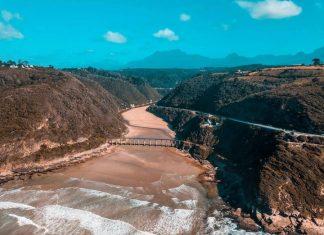 garden route south africa beach spectacular