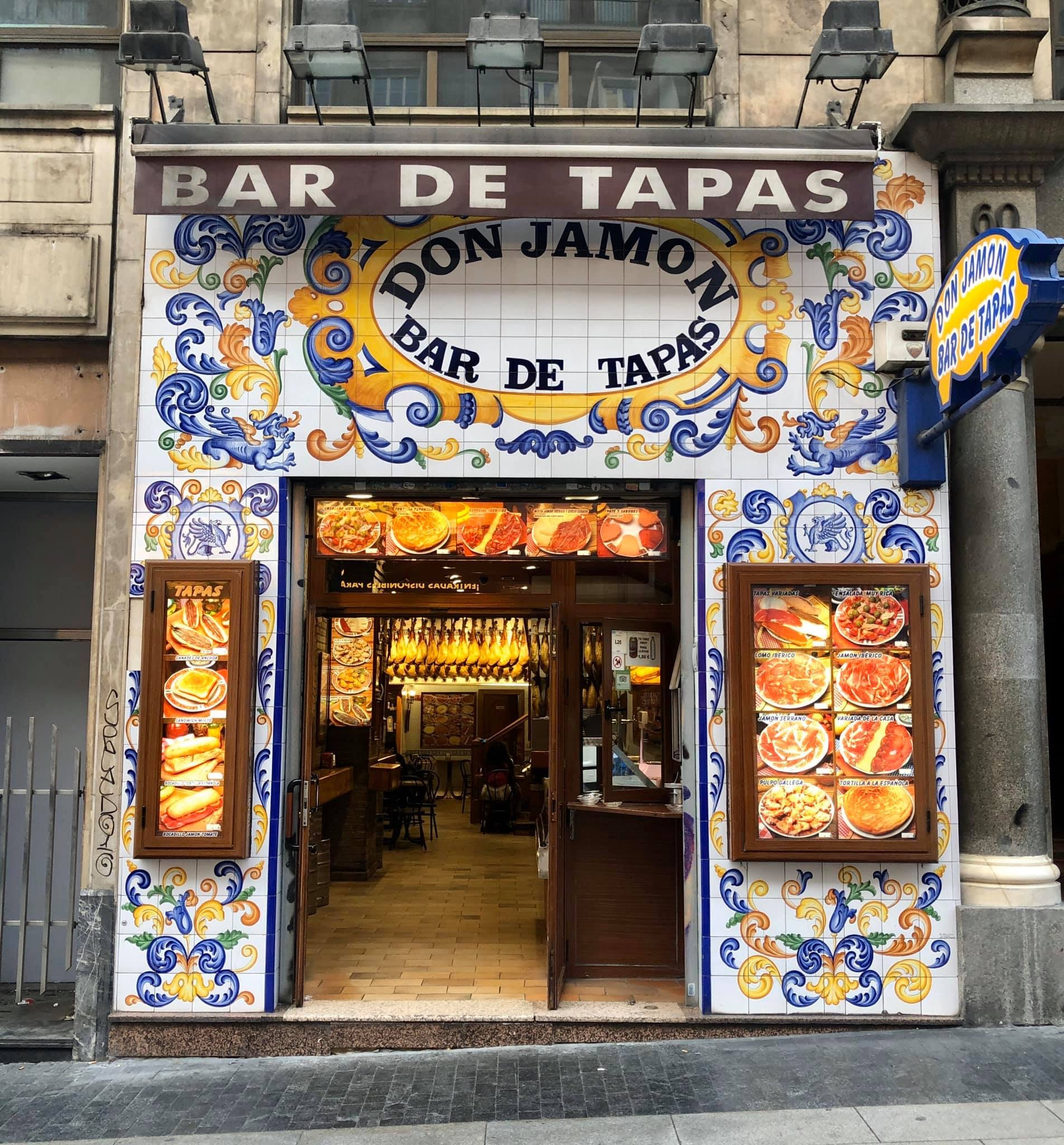 madrid spain bruce marais travel tapas don jamon