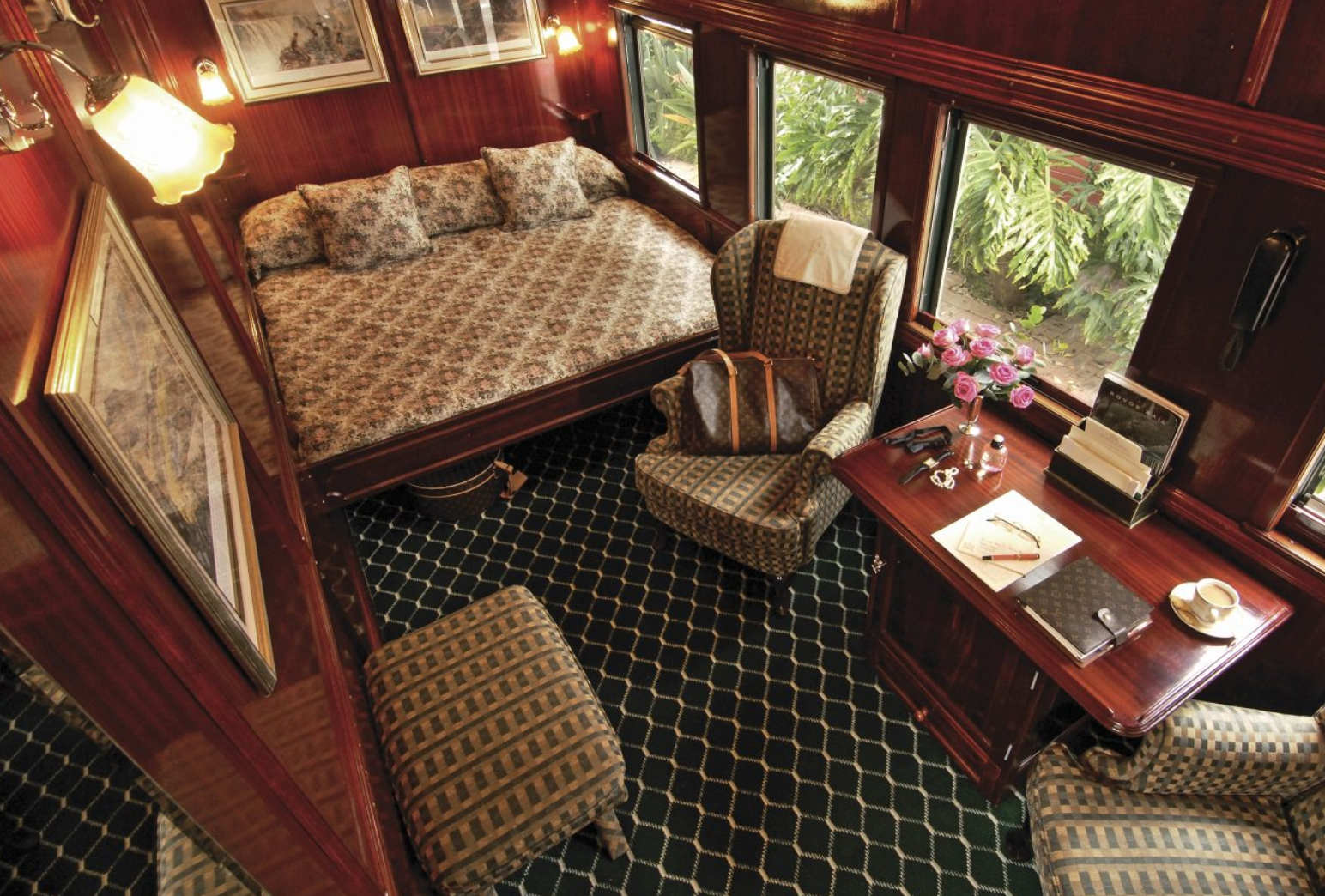 rovos rail train south africa 5-star travel