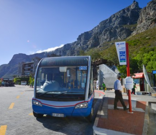 mycity bus cape town table mountain