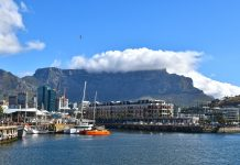 cape-town-table mountain v and a waterfront pix