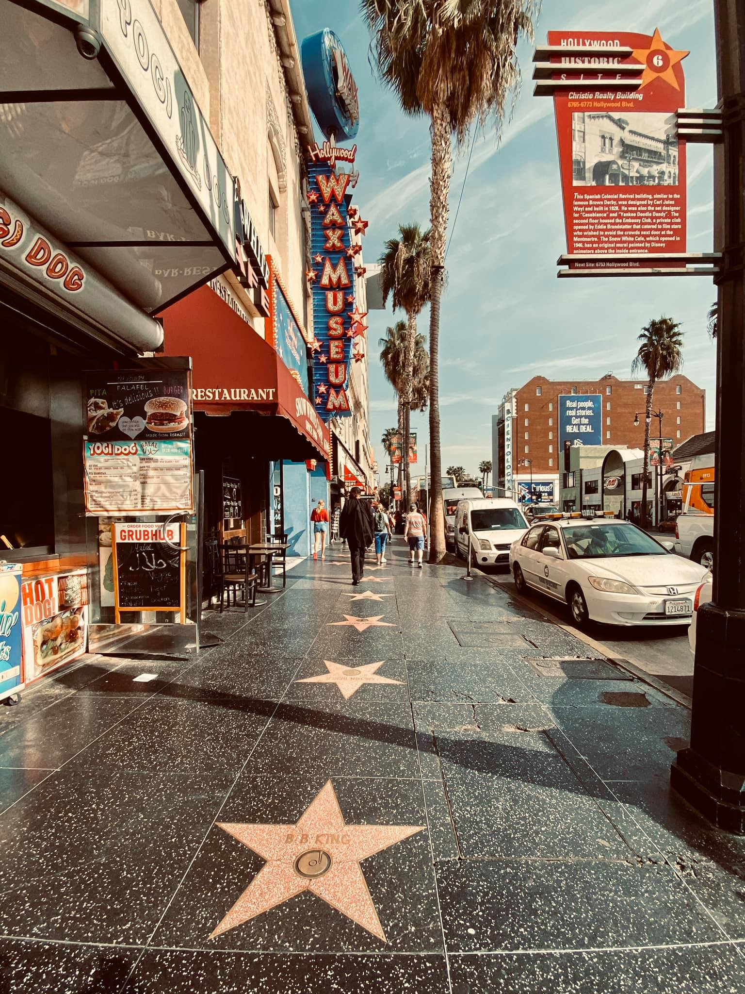 hollywood mels diner los angeles bruce marais travel california