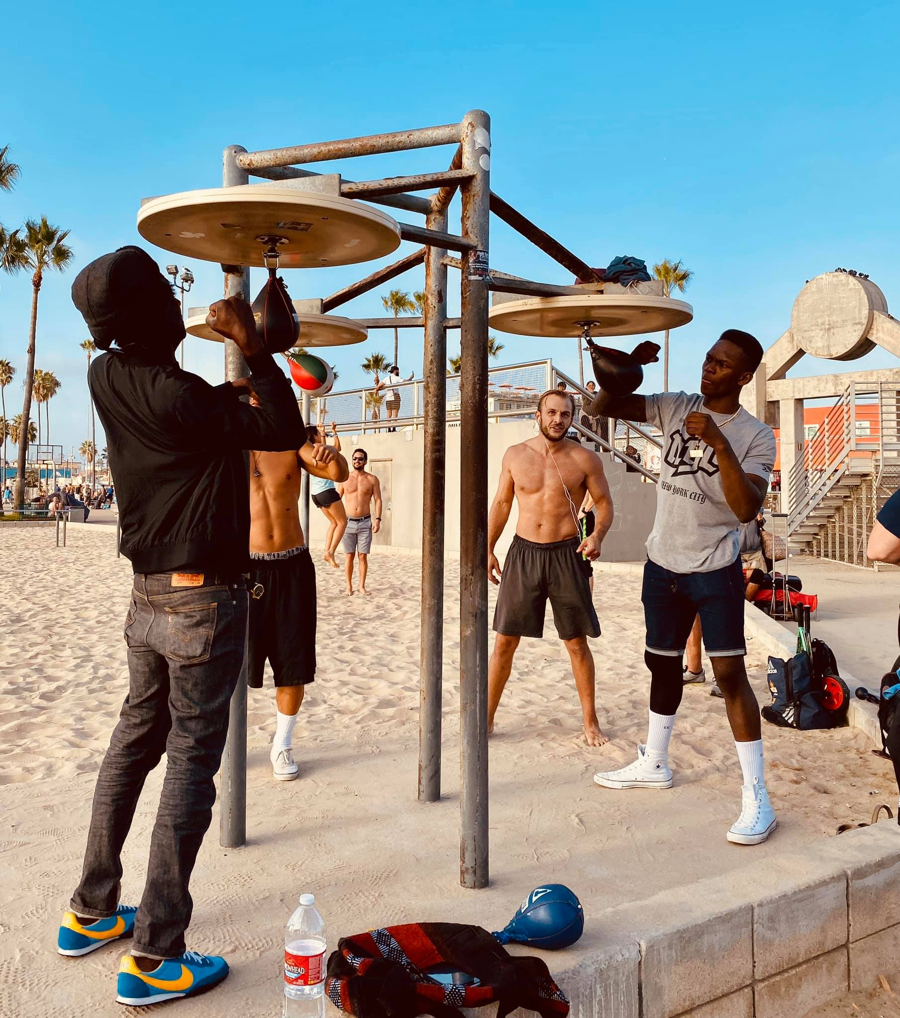 muscle beach venice los angeles bruce marais travel california