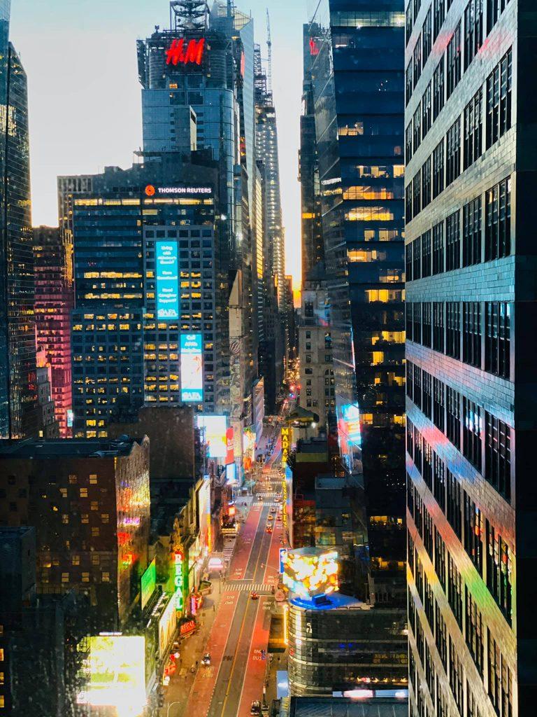 42nd street nighttime bruce marais photography travel new york manhattan travel