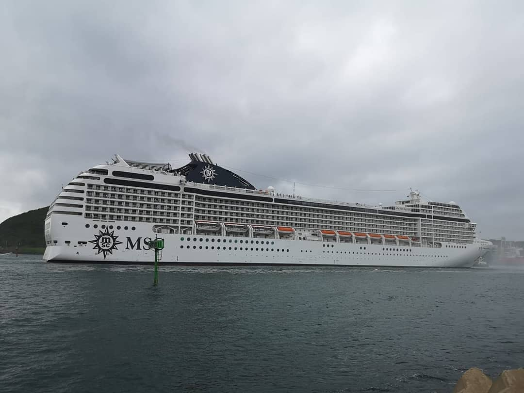 msc orchestra cruise ship durban south africa