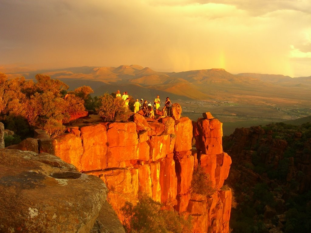 valley of desolation camdeboo south africa travel