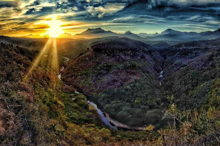 travelbug rose bilbrough wilderness garden route south africa map of africa viewpoint