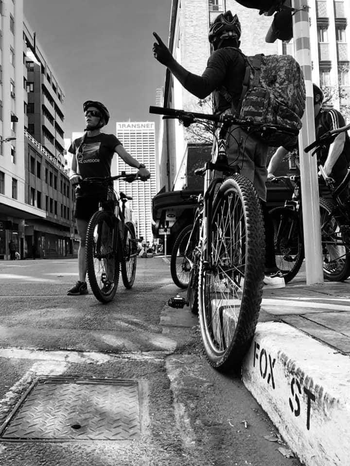 microadventures bicycle tour johannesburg