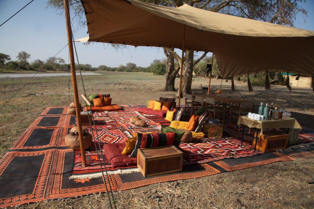 Zakouma National Park Chad camp nomade