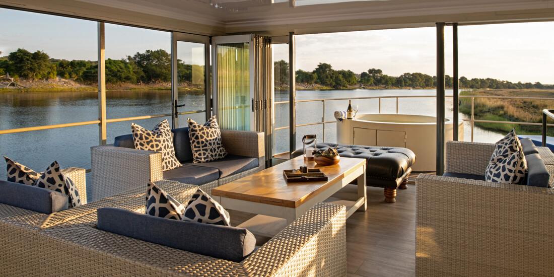 chobe princess botswana national park riverboat travel