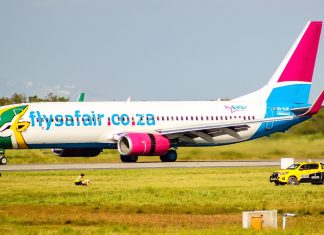 flysafair south africa lowcost airline travel