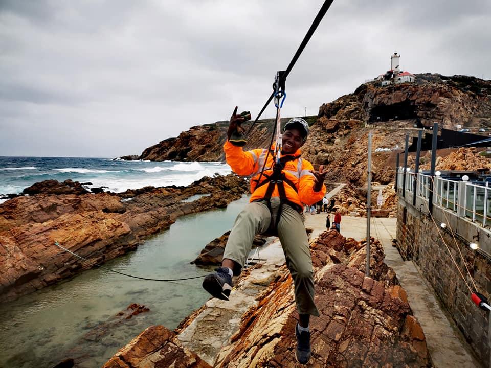 mossel bay zipline longest over ocean zipline in world