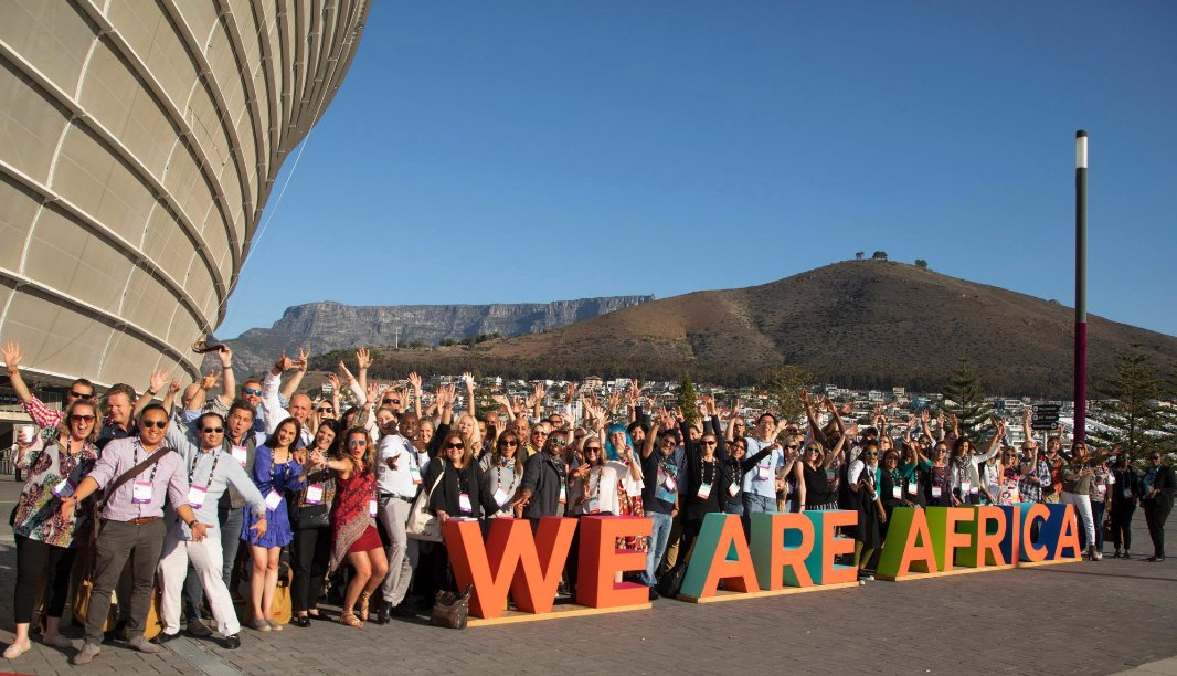 weareafrica travel expo cape town south africa