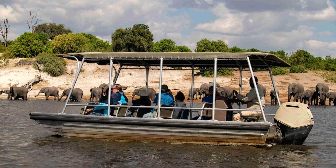 zambezi queen chobe national park botswana riverboat