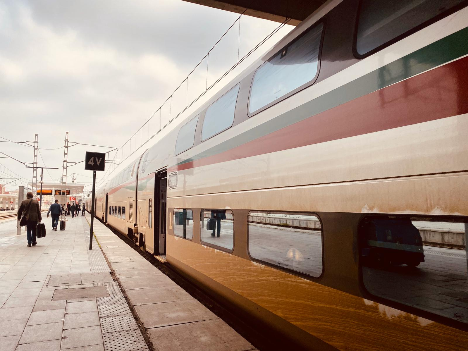 al boraq oncf morocco high speed train travel casablanca bruce marais