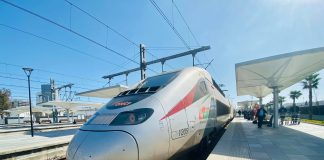 al boraq oncf morocco high speed train travel rabat bruce marais