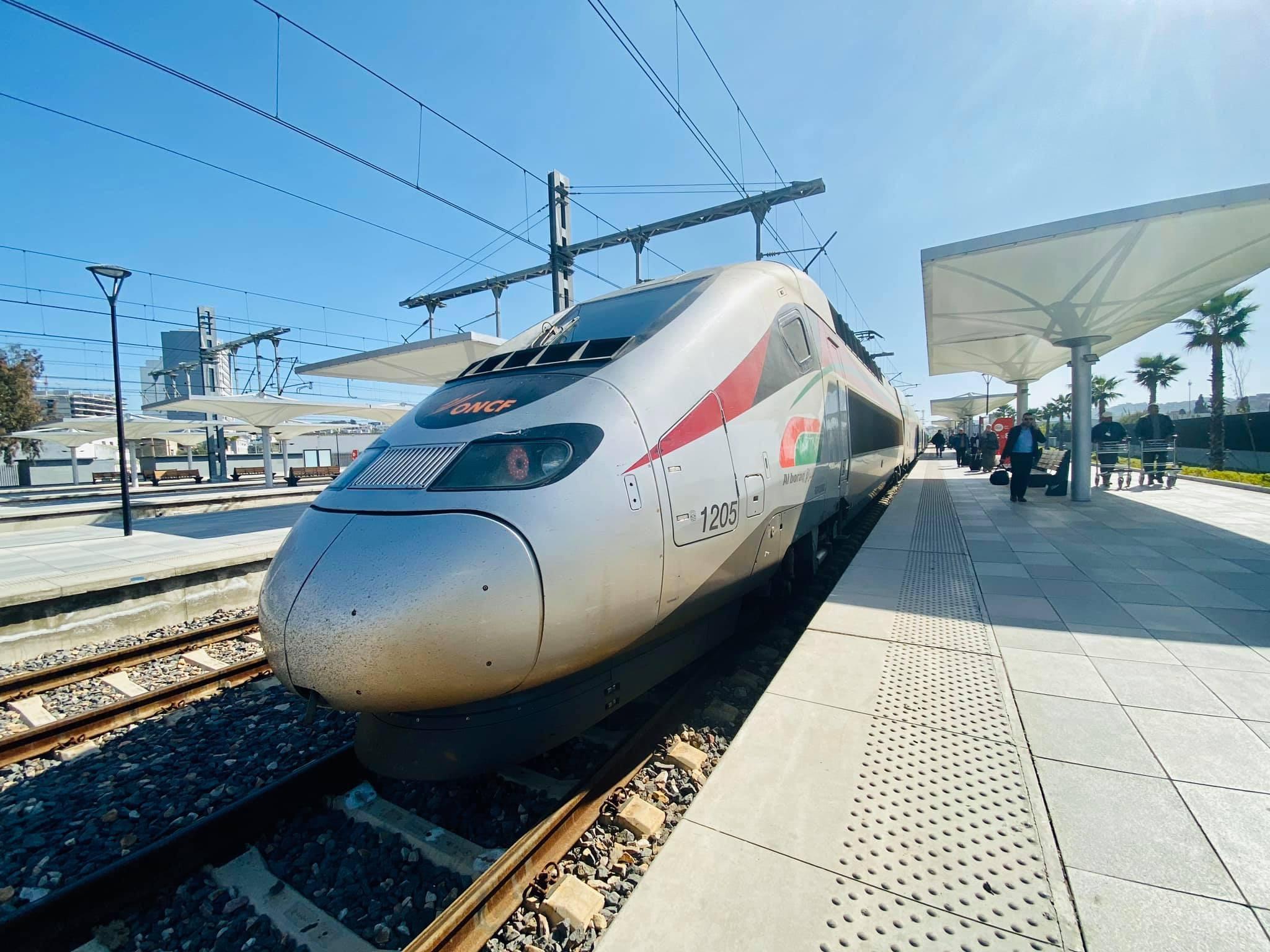 al boraq oncf morocco high speed train travel rabat bruce marais