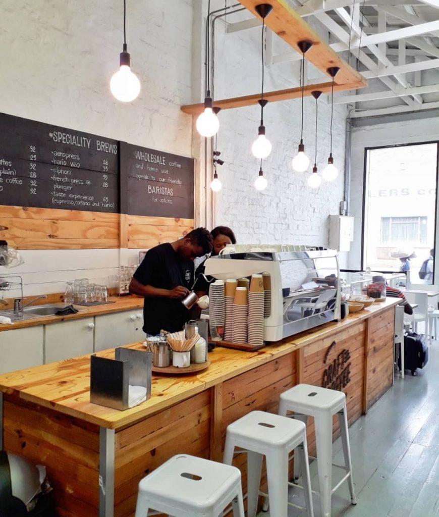craft coffee johannesburg newtown south africa