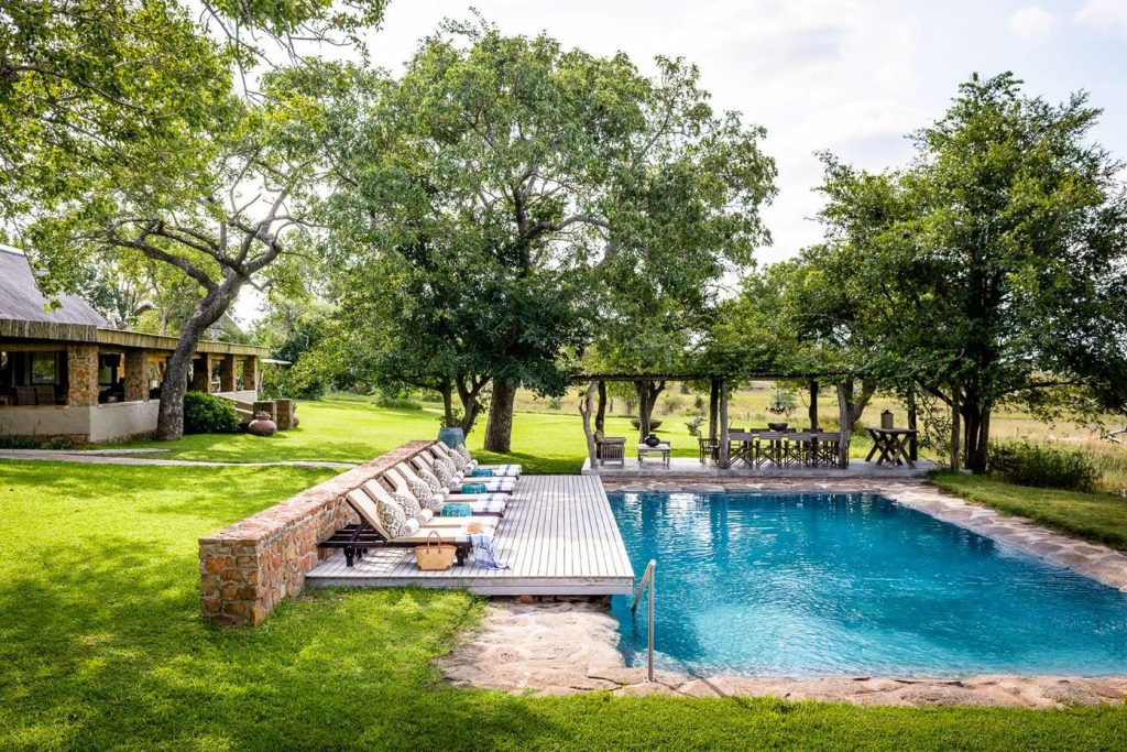 swimming pool castleton singita lodge safari south africa