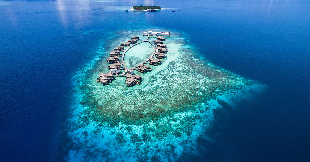 raffles meradhoo maldives resort island travel