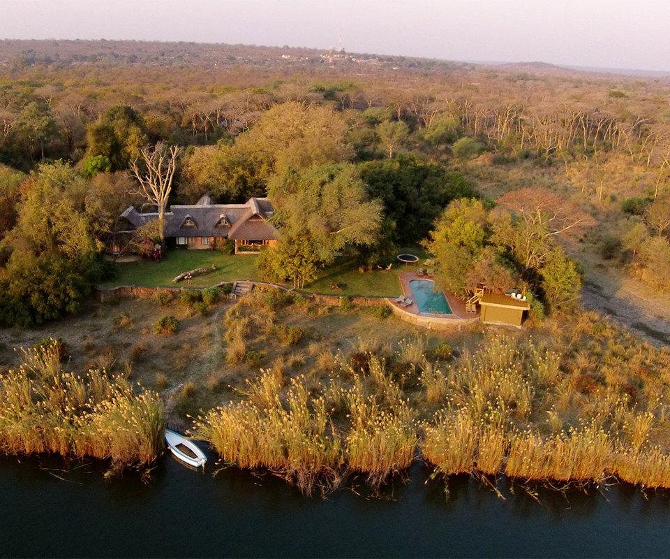 tangala house tongabezi zamia private house