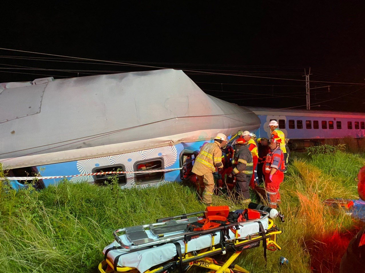 train prasa premier classe south africa crash