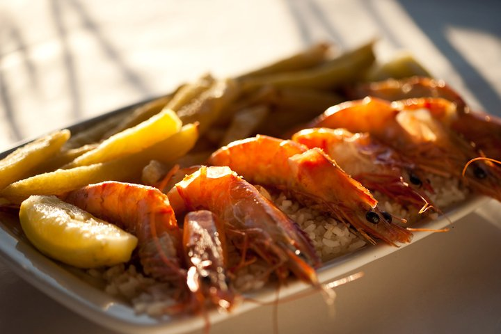 troyeville hotel prawns food johannesburg travel south africa