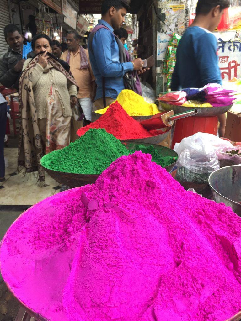 holi powder india delhi old spice market