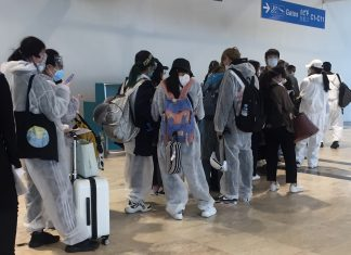 chinese travelers hazmat coronavirus travel addis ababa bole airport