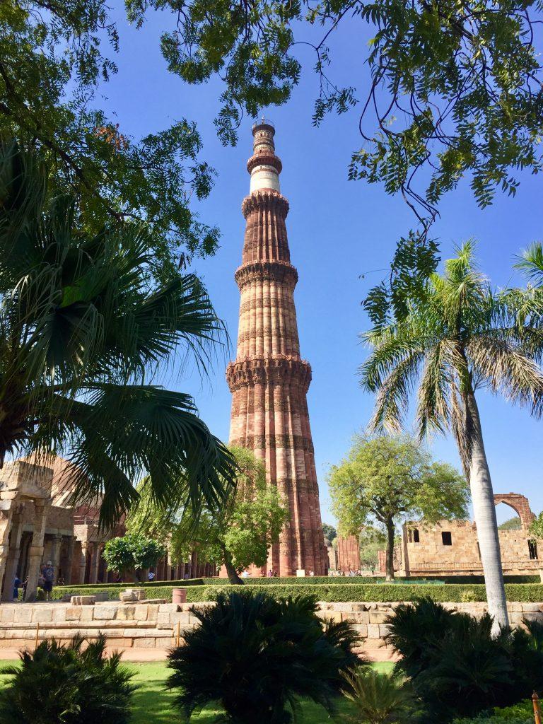 qutb minar minaret heritage site india delhi ted botha