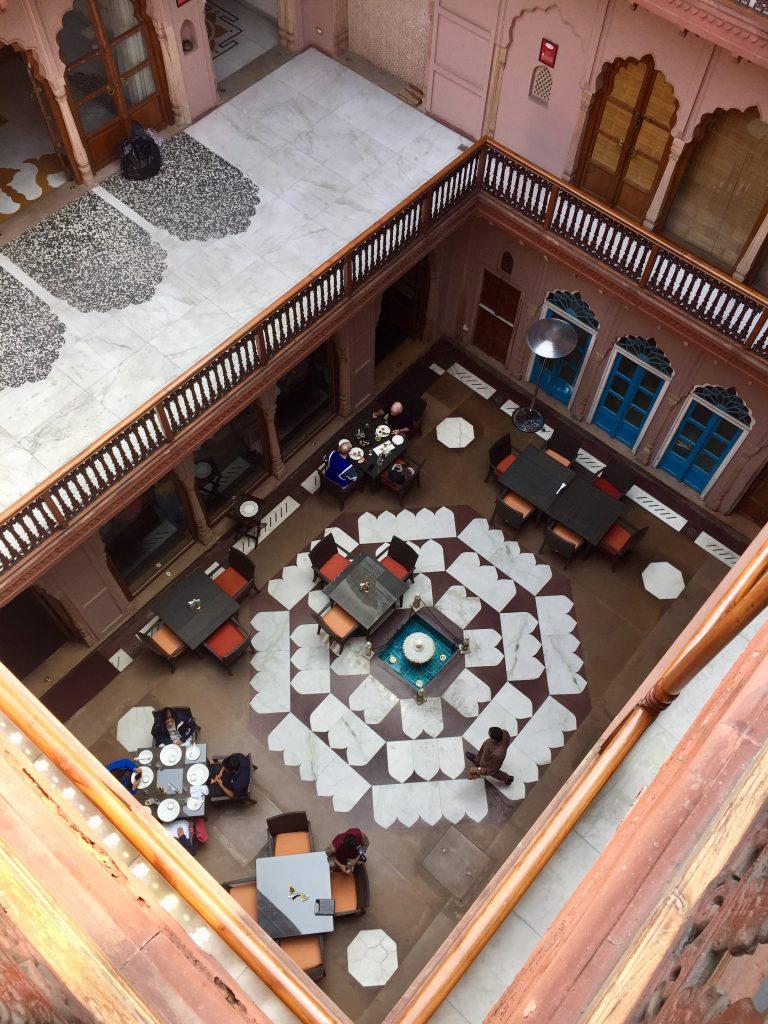dharampura haveli old delhi courtyard hotel inida ted botha
