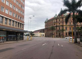 durban first day lockdown south africa