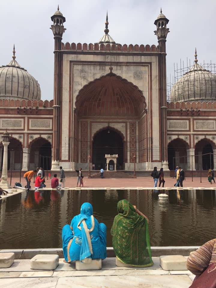 jama masjid delhi mosque india