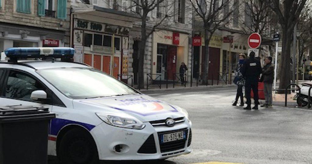 police quarantine france