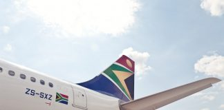 saa suspends international flights