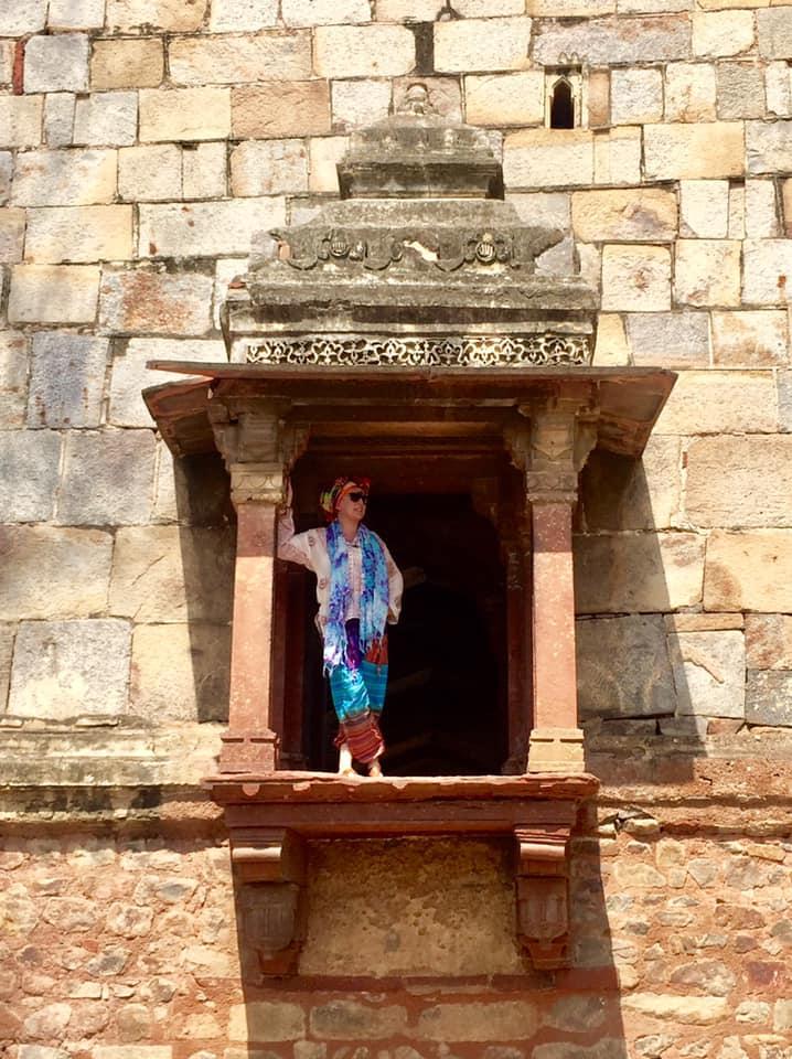 tourist lodi gardens masoleum delhi india travel