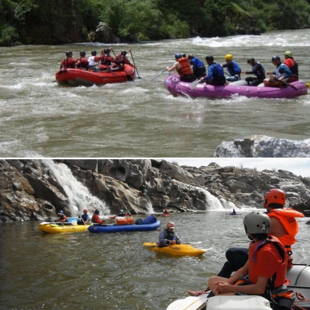colorado orange river south africa travel rafting split picture